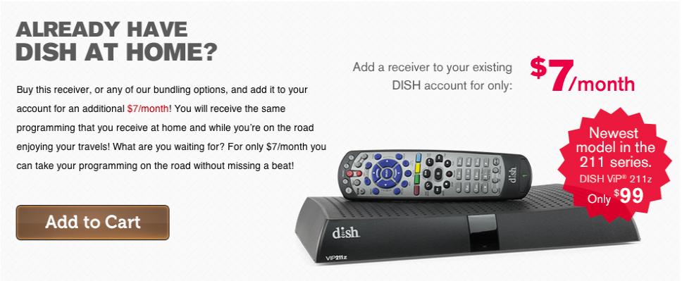 DISH 211z Receiver