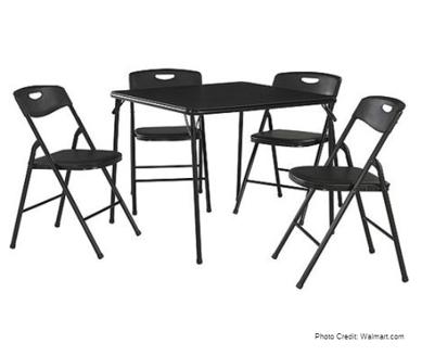 FoldingTableand Chairs