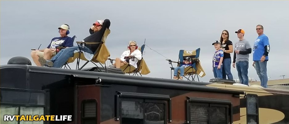 NASCAR-Tailgating-RV-Roof