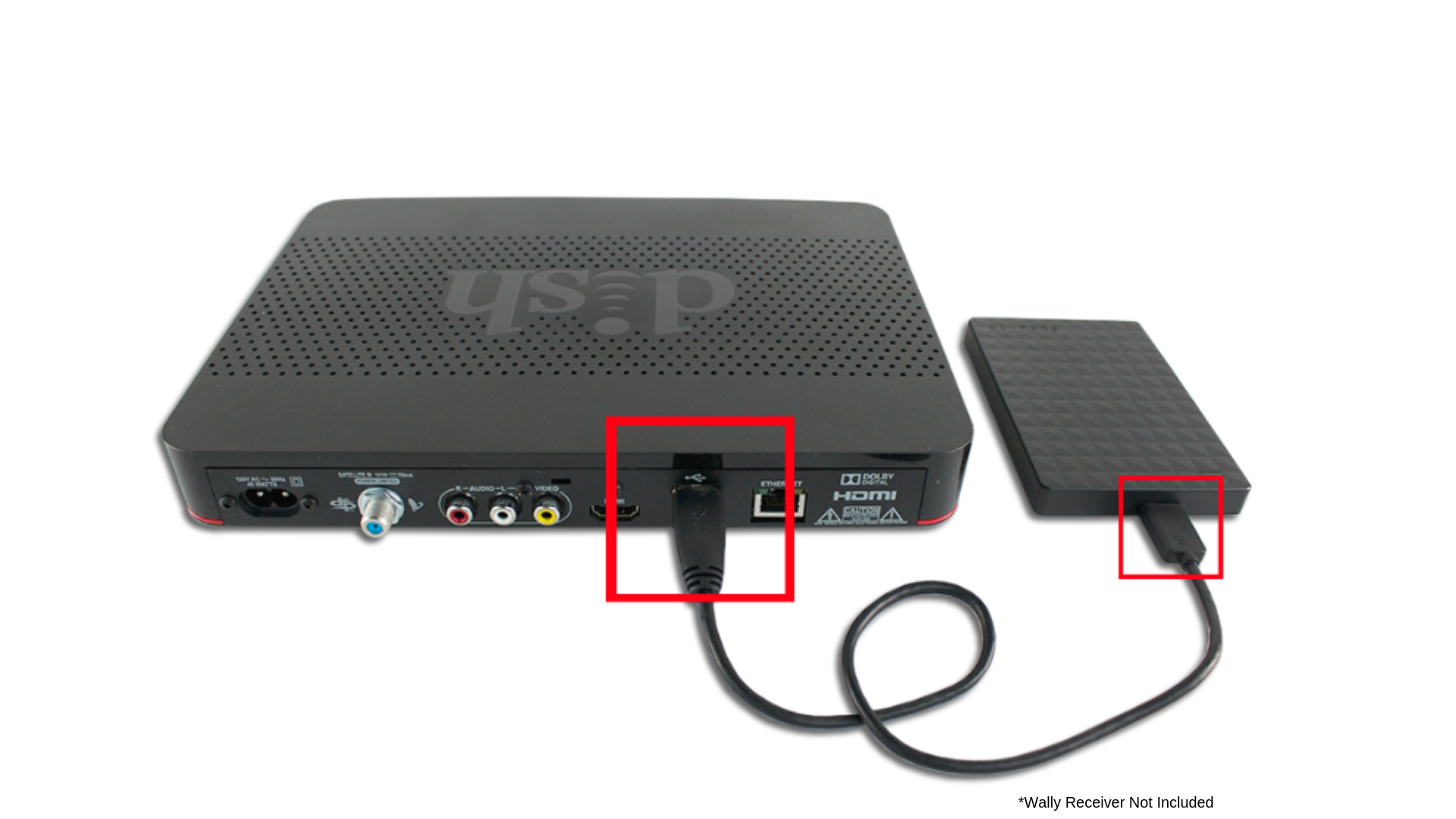 DVR connected To Wally
