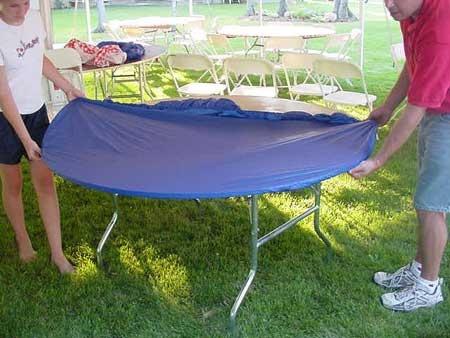 elastic tableclothes