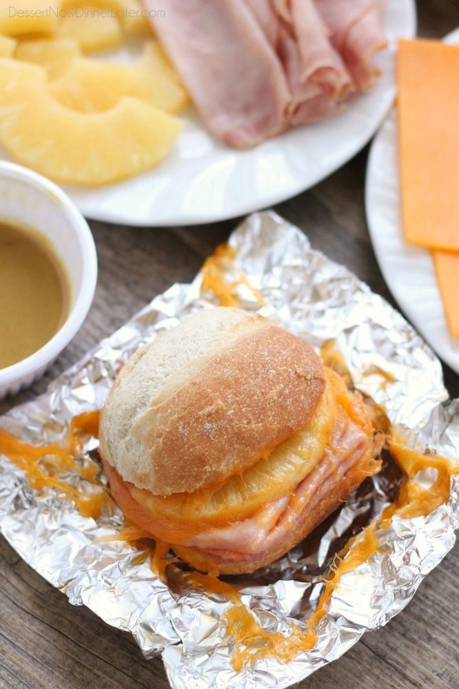 hot-ham-and-pineapple-campfire-sandwiches