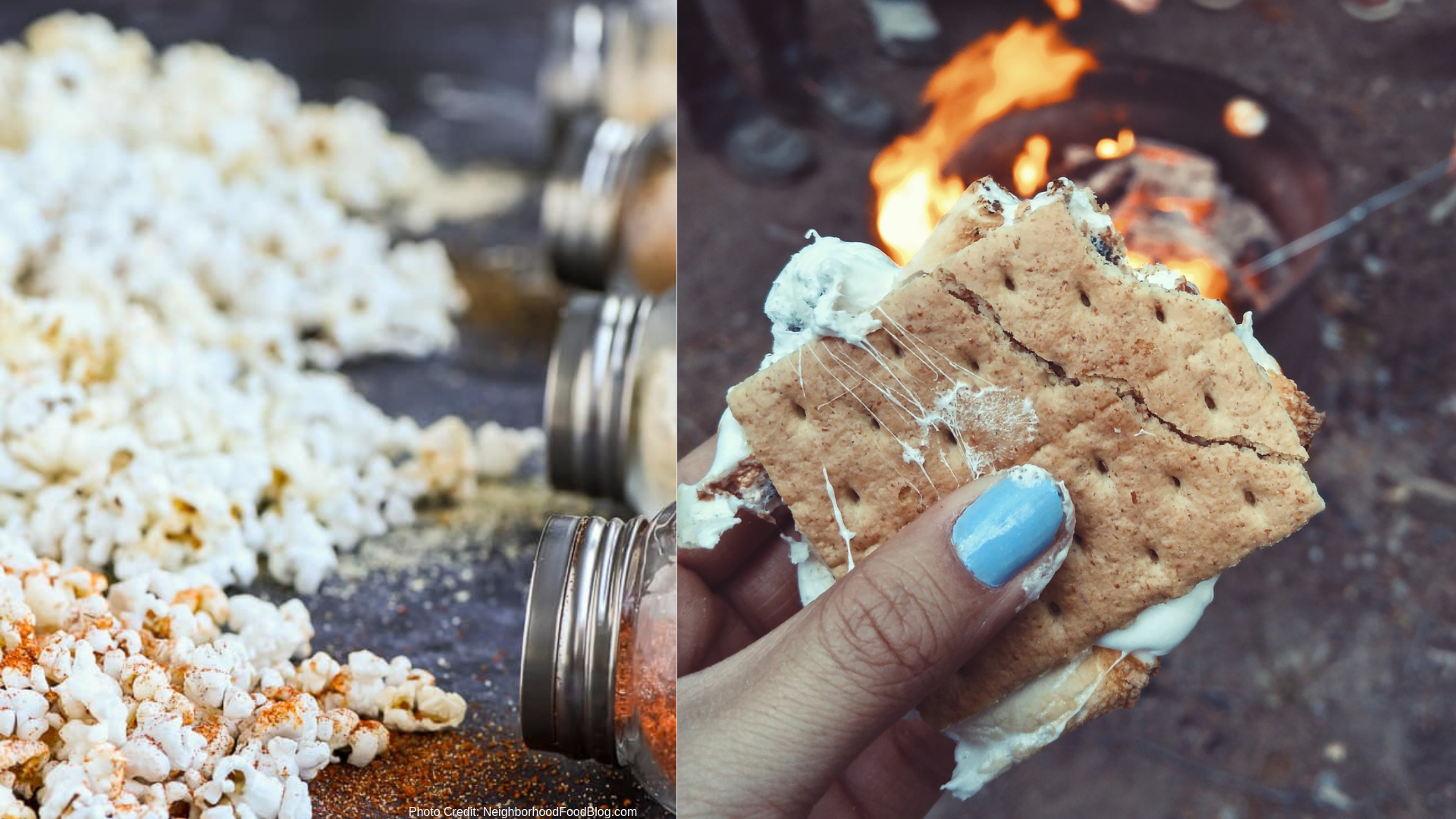 Snacks - Popcorn & S'more